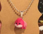 Tiny  Cheshire Cat  Tsum Tsum Necklace