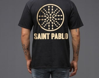 Kanye West Tour yeezy yeezus Black Saint Pablo Tour T-Shirt New 2016 2017