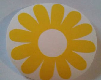 Daisy Flower /Daisy Window Decal/Daisy Decal/ Flower Window Decal/Daisy Window Decal/Daisy