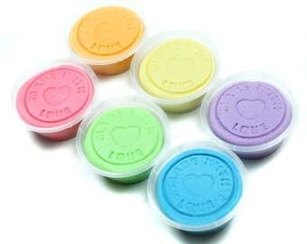 Pastel Rainbow Pack - Handmade Child's Dough
