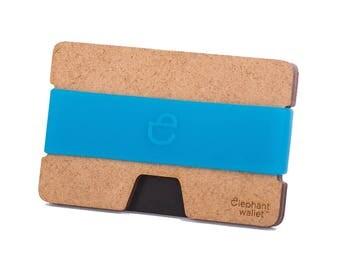 Wooden wallet, credit card wallet, women's and men's wallet, minimalist wallet, slim wallet, modern design wallet, N wallet