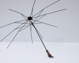 Antique Parasol Umbrella Frame, National Umbrella - Project Piece