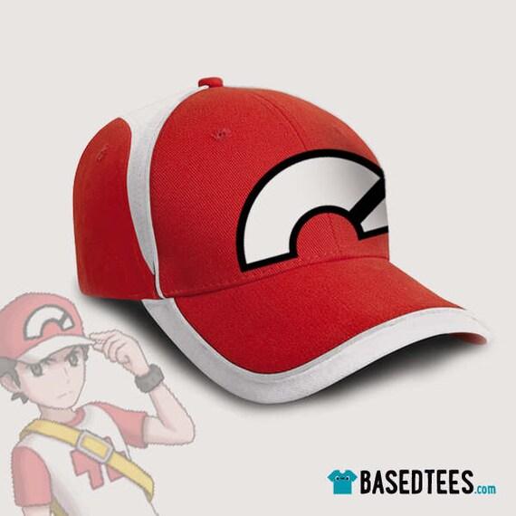Red Champion Trainer Cap