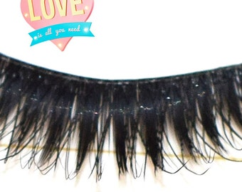 Beautiful and natural long Eyelashes for the custom of your doll eyes BLYTHE PULLIP BJD...