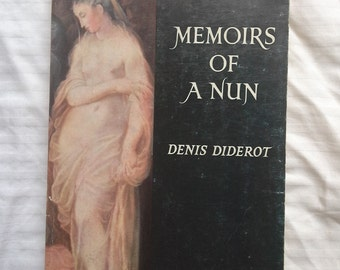 Memoirs of a Nun by Denis Diderot over 18s only