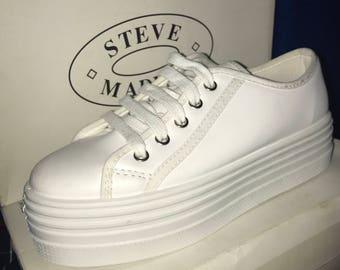 Vtg 90s Steve Madden Platform sneakers 7