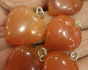 Five carnelian pendants for sacral chairs healing