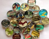 Keweenaw Collection: 21 vintage inspired glass magnets