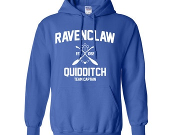 Harry Potter Sweatshirt Ravenclaw Sweatshirt Harry Potter Ravenclaw Quidditch Hogwarts Hoodie Sweater Sweatshirt Crewneck Apparel Unisex