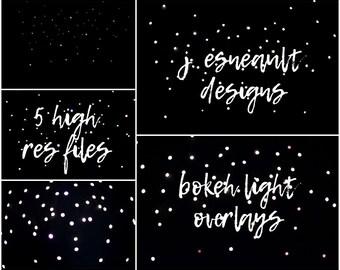 Bokeh Light Overlays