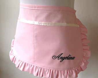 Utility Apron, Made to order, Bachelorette Party, Bridesmaids, Maid of Honor, Personalized, Vendor Aprons, Monogrammed, Name