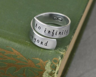 To Infinity and Beyond Wrap Ring