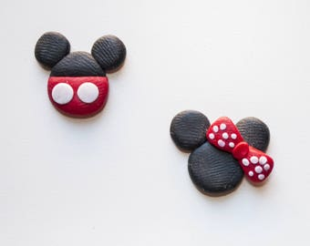 Mickey & Minnie earrings