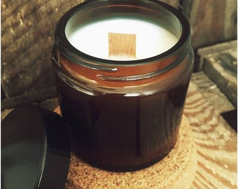 natural scented soy wax candle