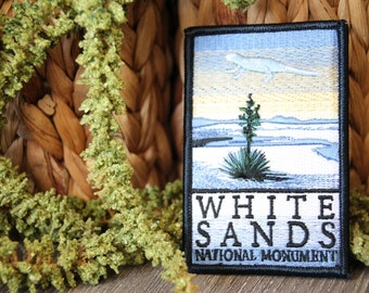 White Sands National Monument Patch