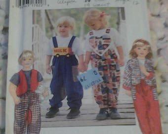 Simplicity 9693, Toddlers' Separates