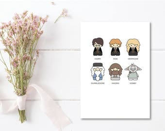 Greeting Card | Harry Potter Collection