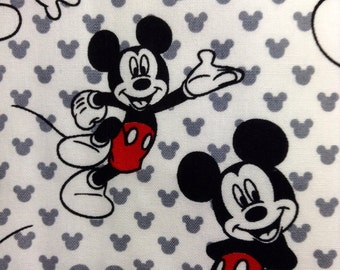 One Half Yard Piece of Fabric Material - Totally Mickey Toss