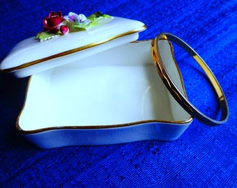 Sale Vintage Monet Gold Bangle Bracelet