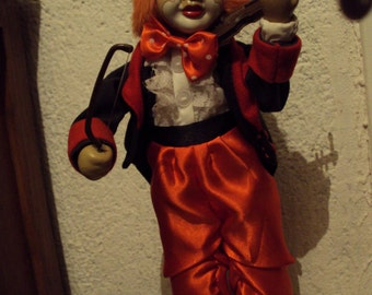 Automaton, player violin clown.