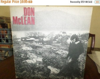 Save 30% Today Vintage 1972 LP Record Don McLean Self Titled Excellent Condition United Artists 6756