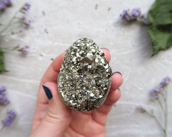 Pyrite Egg - Shaped Pyrite