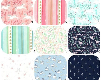 FLANNEL Crib Sheets - Michael Miller, Robert Kaufman - Bassinet, Pack N Play, 4moms, Stokke, Crib Sheets, Changing Cover, Boppy Cover