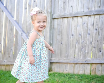 Girls Dresses - Toddler Dress - Baby Dress - Toddler Summer Dress - Toddler Sun Dress - Toddler Dress - Toddler Girl Clothes - Simple Dress