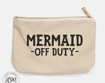 Mermaid Off Duty Cosmetic Bag