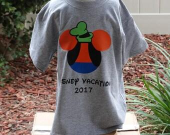 Free Shipping for US Disney's  Mickey Goofy Shirt