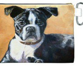 Gorgeous Boston Terrier Accessory Bag!