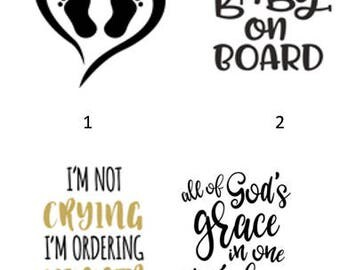 Baby/Child Decal or Iron On