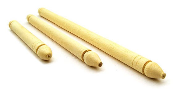 DIY unfinished natural wood Scroll Rods to create customized