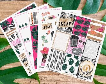 SPRING BREAK KIT Stickers for your Planner