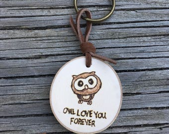 Owl Love You Forever Keychain