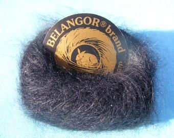 Belangor Angora Yarn -black (10 gram)