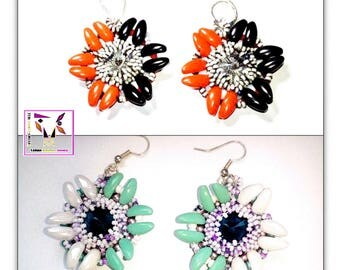 Earrings Mouline Rouge