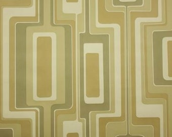 1970S-Original-The-Shape-of-Sound-Mod-Minimalist-Geometric-Wallpaper-1960s-70s