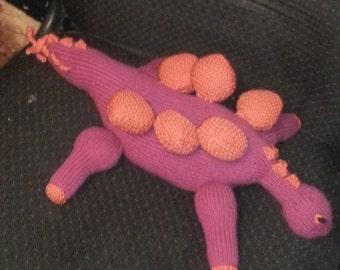 Stegosaurus doll