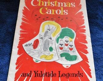 Christmas Carols & Yuletide Legends by Richfield Dealer
