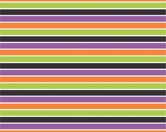 Black, purple, green, orange and white stripe craft  vinyl sheet - HTV or Adhesive Vinyl -  stripe pattern HTV3023