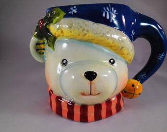 Christmas bear mug from Certified International.