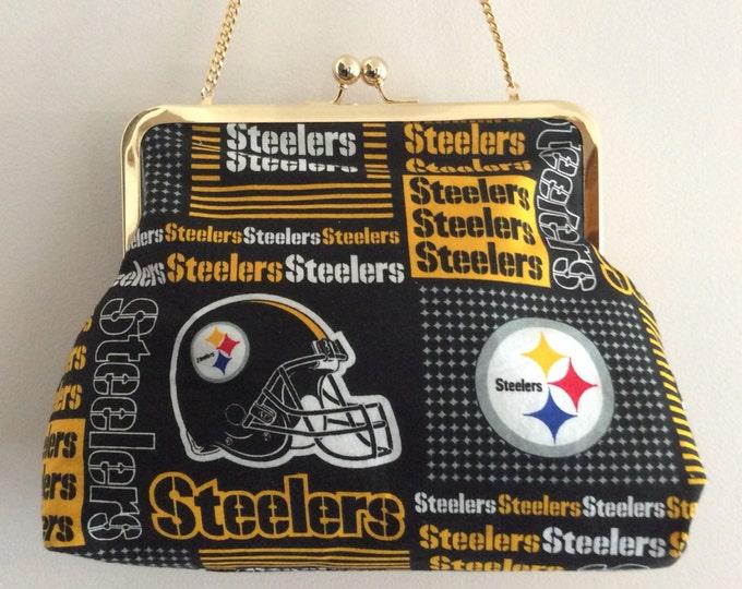Pittsburgh Steelers Clutch Purse Handbag