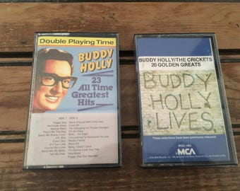 Buddy Holly Cassette Tapes