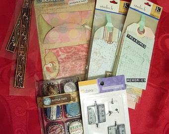 Scrapbook Embellishments Supply Lot