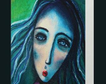 Delia - Art Card
