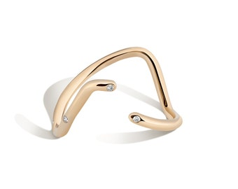 14K Gold Subway Ring - UWS to LES