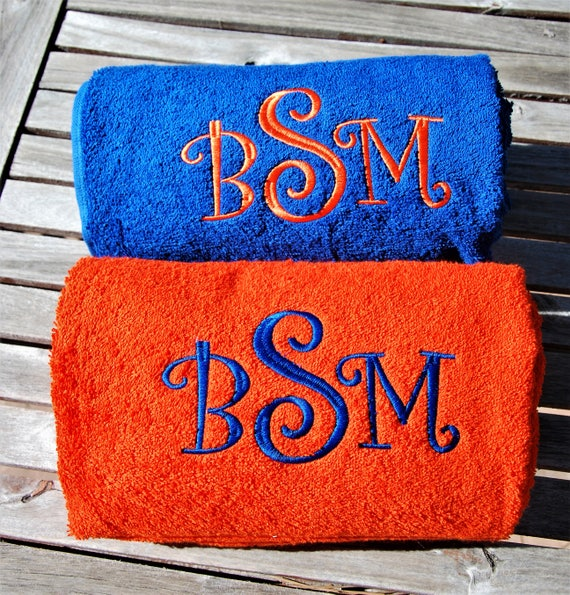 Graduation Gift Ideas: Personalized Large Size Bath Towel With