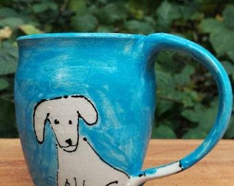 Labrador puppy ceramic mug