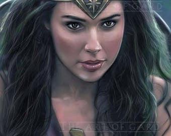 Wonder Woman (Gal Gadot) Portrait